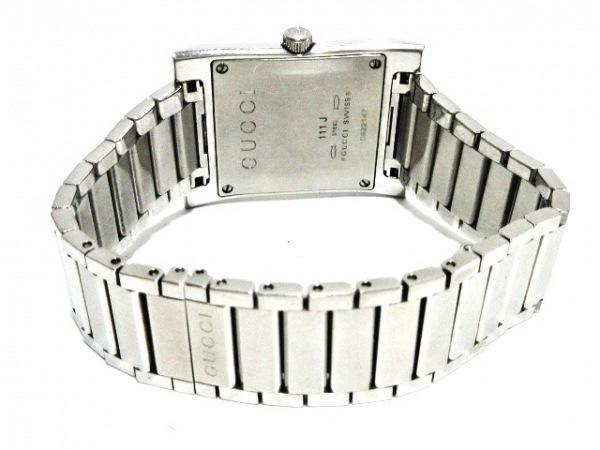 可使用~GUCCI 古馳~ 111J ~是代標不是現貨~男用錶電池錶徑38X28mm錶帶長16.5 cm
