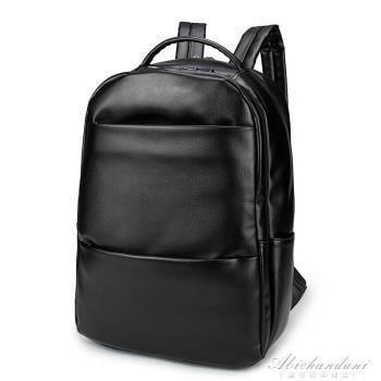 多口袋後背包男時尚潮流休閒背包中生學生書包運動旅行電腦包 igo