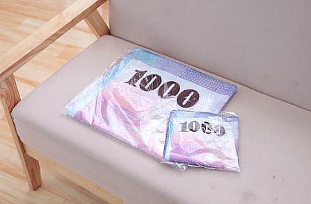 (毛巾)台幣毛巾 美金浴巾 錢幣毛巾 紙鈔 千元毛巾 百元浴巾 雙面印刷 吸水 創意毛巾 鈔票