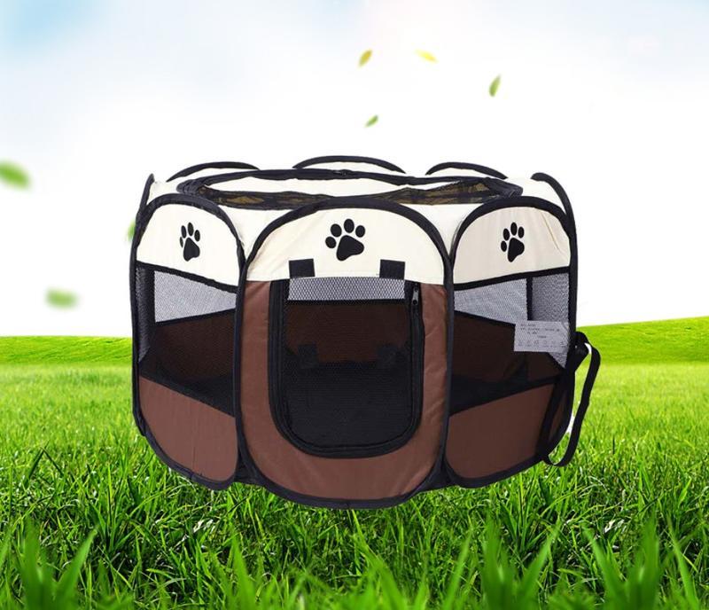 新流行 八角帳篷 寵物用品 牛津布 八角摺疊 寵物露營帳篷 寵物窩