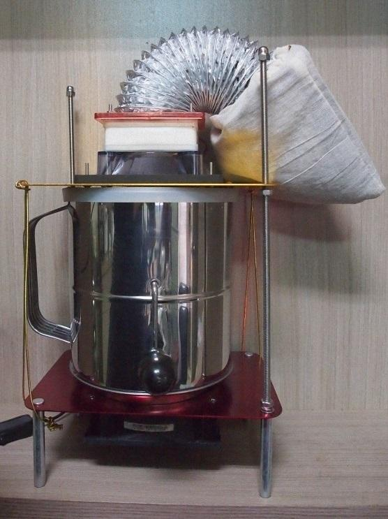 ★訂製★ 咖啡豆 烘豆 煙囪 去銀皮功能 散熱器 冷卻器 冷卻機 烘培機 生豆 烘豆機 手網 陶瓷 不銹鋼 冷卻 散熱