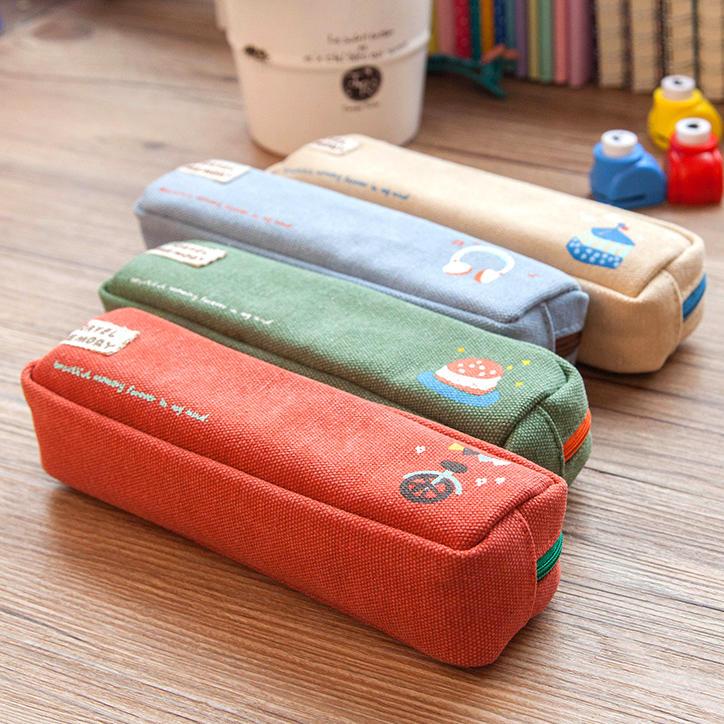 廣博中小學生筆袋簡約時尚文具盒筆包男女用大容量可愛鉛筆袋盒【潮咖地帶】