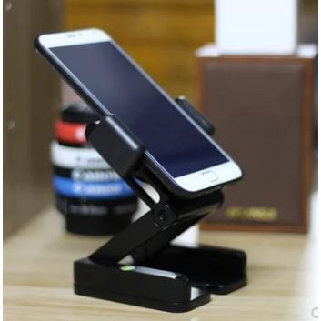 金屬折疊懶人手機桌面支架簡約快手直播便攜萬能視頻拍攝美甲俯拍