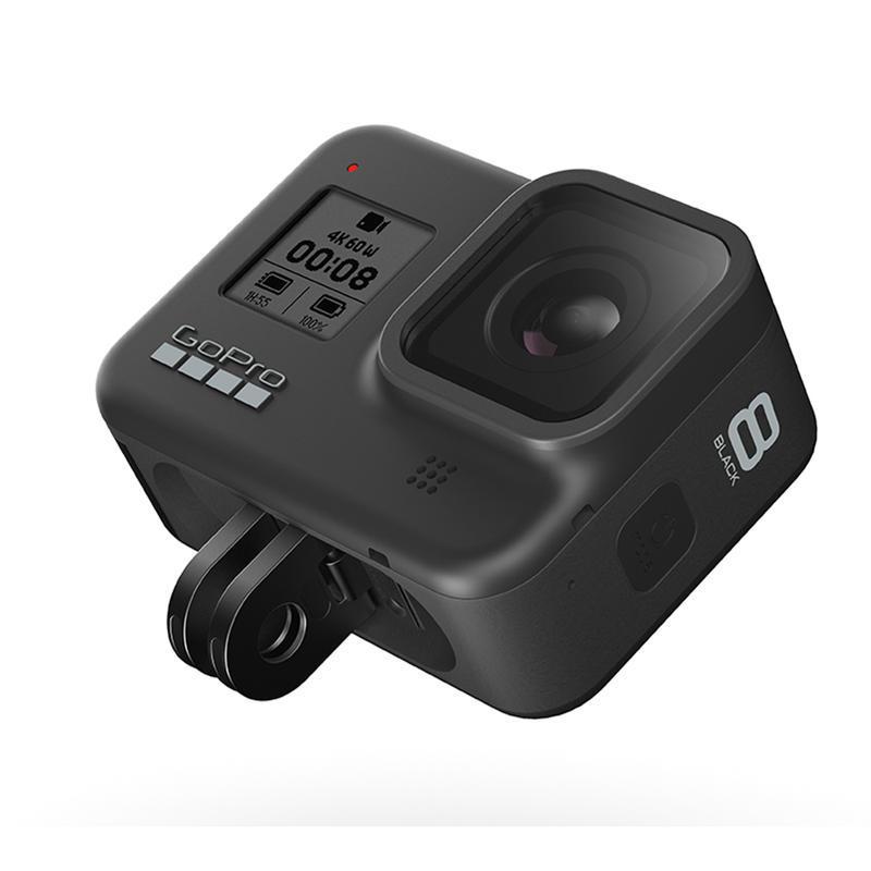 ◎相機專家◎ 春節限量禮盒 加送專用鋼化貼 GoPro HERO8 Black 攝影運動相機 只到2/3止 公司貨