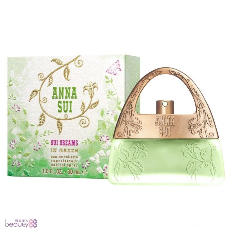 ANNA SUI 安娜蘇 甜蜜夢境淡香水 茉綠限量版 30ML