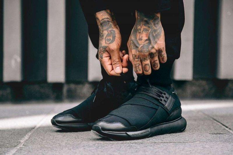 852e7a4c5 Adidas Y-3 Qasa High Triple black 全黑武士鞋山本耀司CP9854 - 露天拍賣