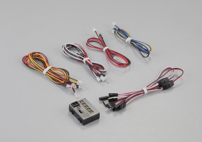 港都RC killerbody LED組/控制盒, 12 LED (PK48102)