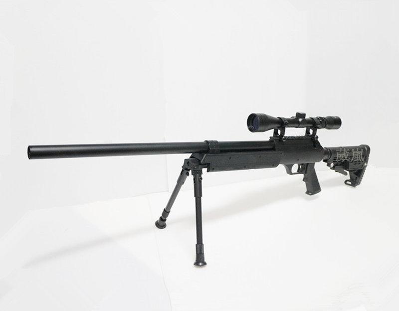 WELL MB13 狙擊槍 手拉 空氣槍 (BB槍BB彈玩具槍長槍模型槍步槍卡賓槍馬槍瞄準鏡腳架
