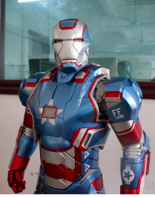 ★夏斯汀★ (現貨代購) 含肩炮 GK 1:2雕像 IRON MAN 鋼鐵人 愛國者 (非SIDESHOW)