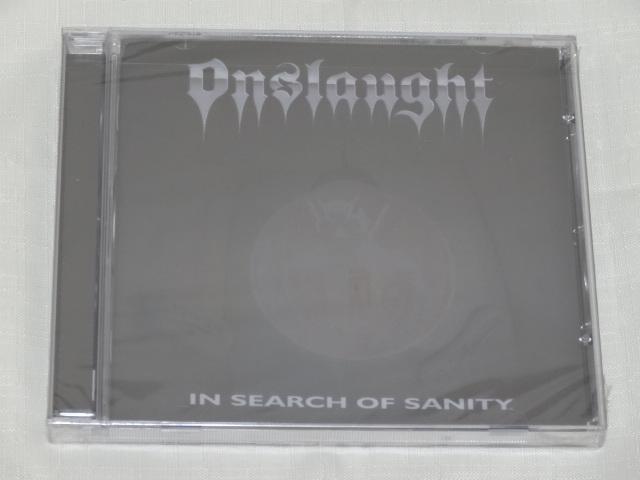 [老學校音樂館] Onslaught - In Search Of Sanity 全新未拆
