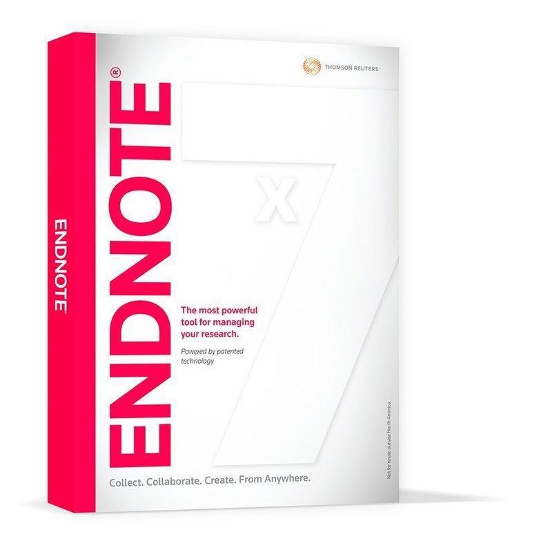 友環代理 EndNote X7 書目管理軟體 光碟學生版