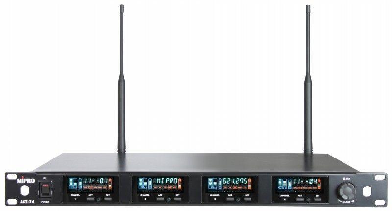 【好康投影機】MIPRO ACT-74/ACT-70H*4 四頻道純自動選訊接收機~來電詢問享優惠~歡迎洽詢~