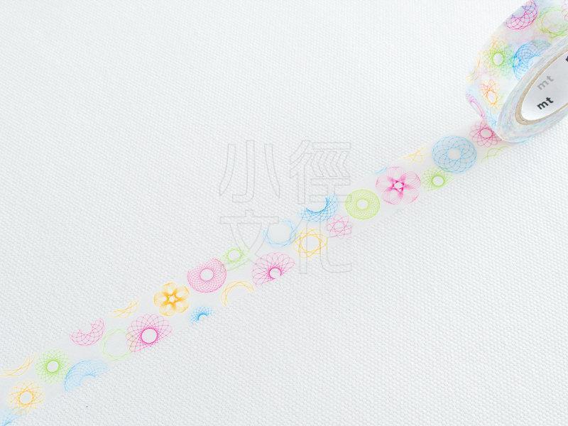 *小徑文化*日本和紙膠帶 mt ex - Spirograph ( MTEX1P110 ),65折
