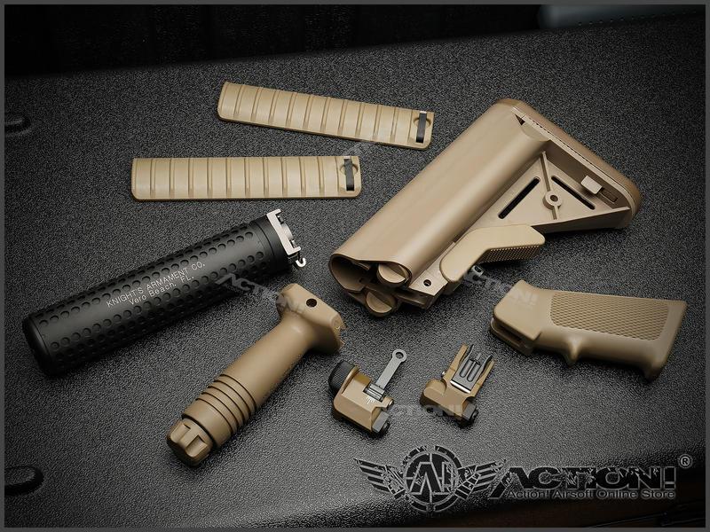 【Action!】現貨免運)VFC - MK18 MOD1 GBB沙色外觀套件組(VFC/GHK系統皆可使用)