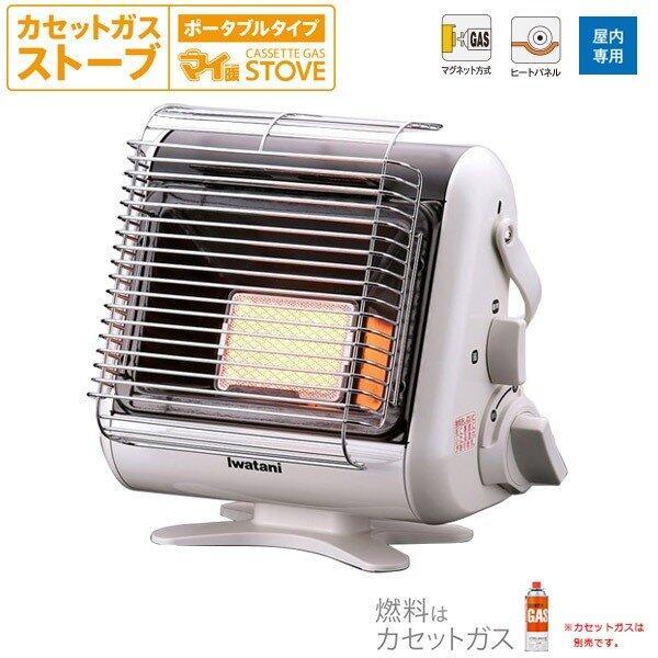 【GIGA】現貨日本Iwatani 岩谷 卡式瓦斯暖爐 輕量 免插電 室內用 露營用 CB-STV-MYD