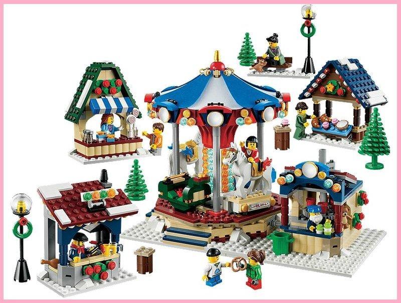 【群樂】降代售10235!~現貨 LEGO  經典系列 冬季旋轉木馬  (只有1組) 搜尋字串 10222 10244