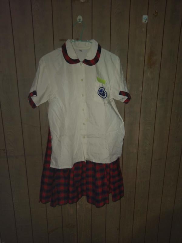 永和國中 女生 夏季 制服 上衣加裙