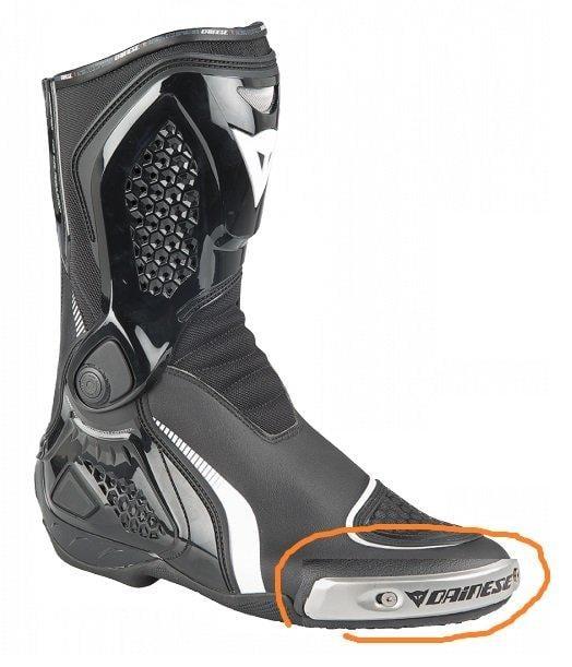 DAINESE  車靴 黑色  金屬滑塊 丹尼斯 羅西 代言