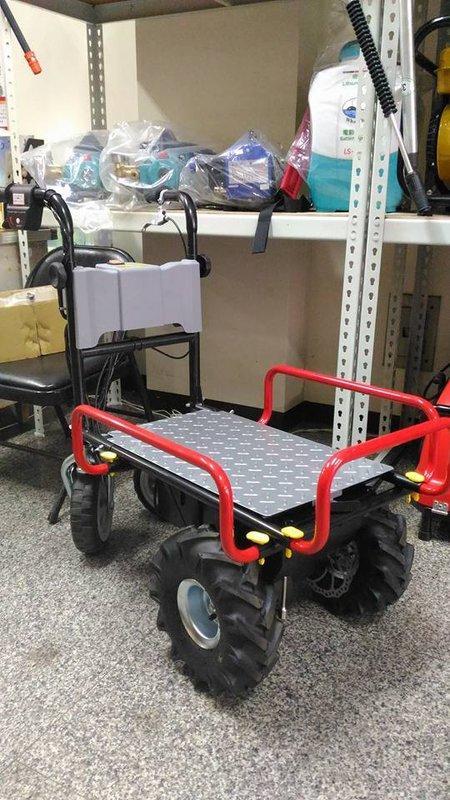 全新U-MO電動搬運車/採收車/田間搬運機(充電型)(無煙/無震動/無噪音/免保養)(適合菜園/農地/果園/溫室)免運費