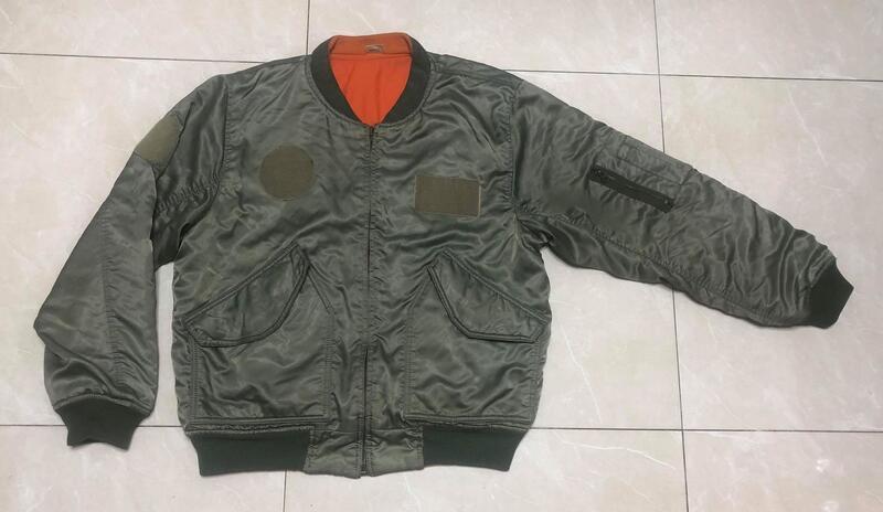 中華民國 空軍防火飛行夾克
