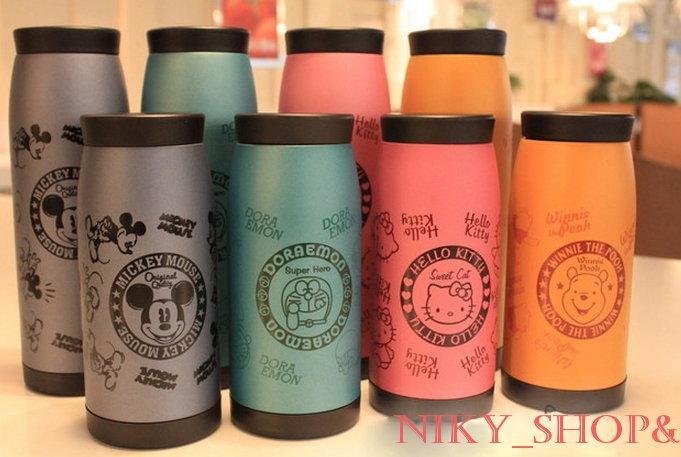 NikyShop&*F103067*高品質好評熱賣中↗500ml日本直送迪士尼&三麗鷗可愛保溫/保冷瓶∼500ml小巧可愛攜帶方便唷♫ (預+現)