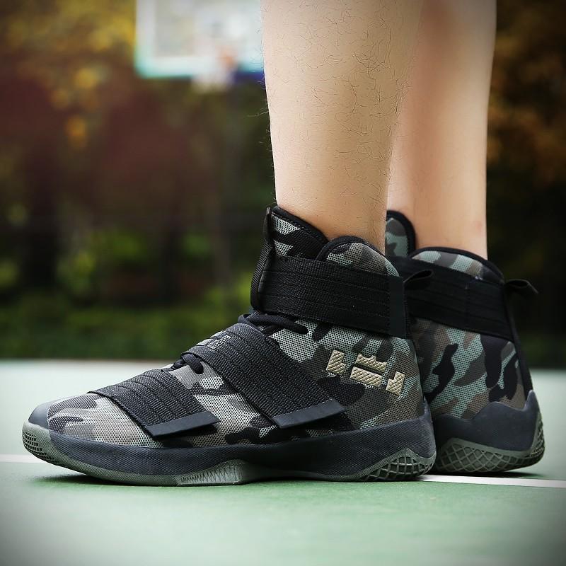 💕限時特價💕►2018情侶款透氣迷彩籃球鞋