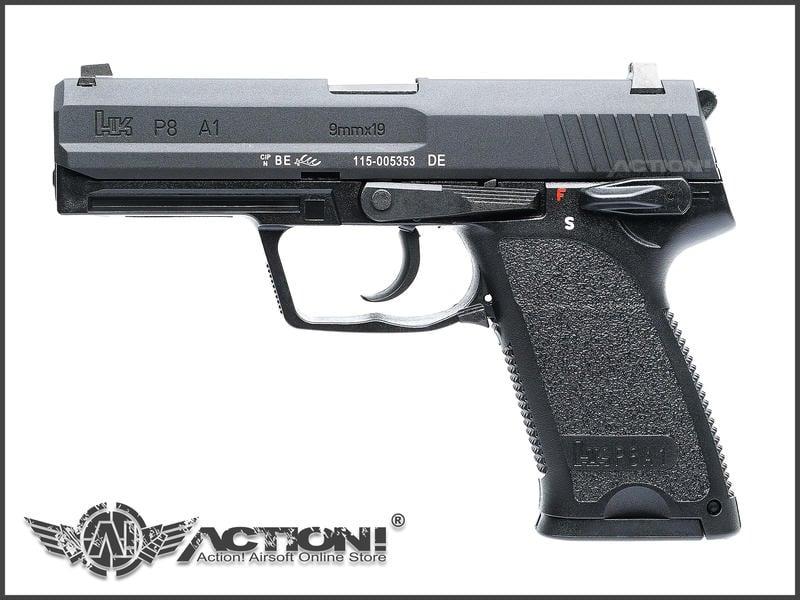 【ACTION!】VFC/Umarex - HK P8A1 瓦斯手槍《亞洲仿真刻印版》《補貨中》