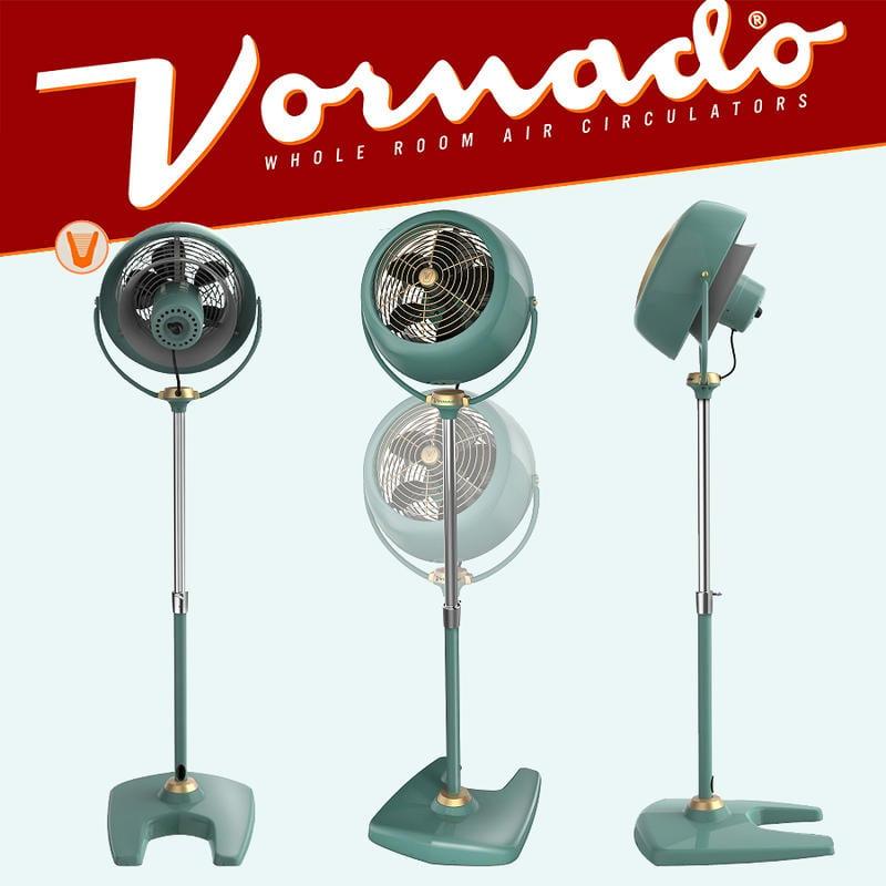 美國 VORNADO沃拿多VF20PED 經典復刻高腳復古循環扇