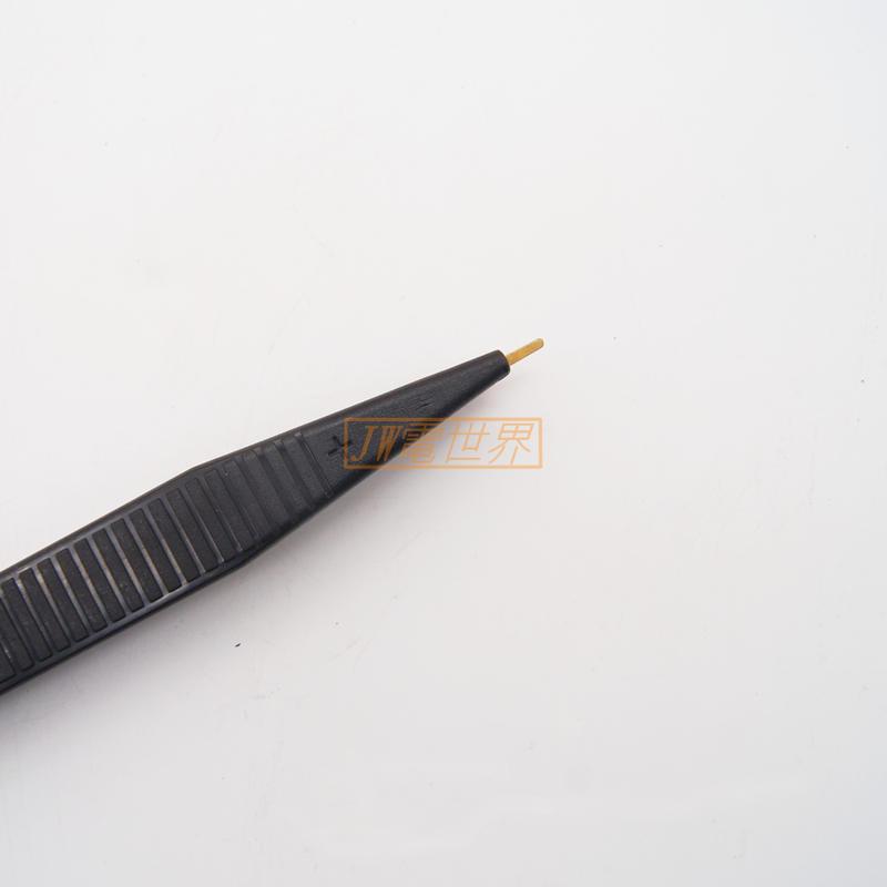 萬用表表筆貼片電容電感表筆LCR貼片夾 SMD測試表筆 鑷子型貼片夾[電世界2000-96]