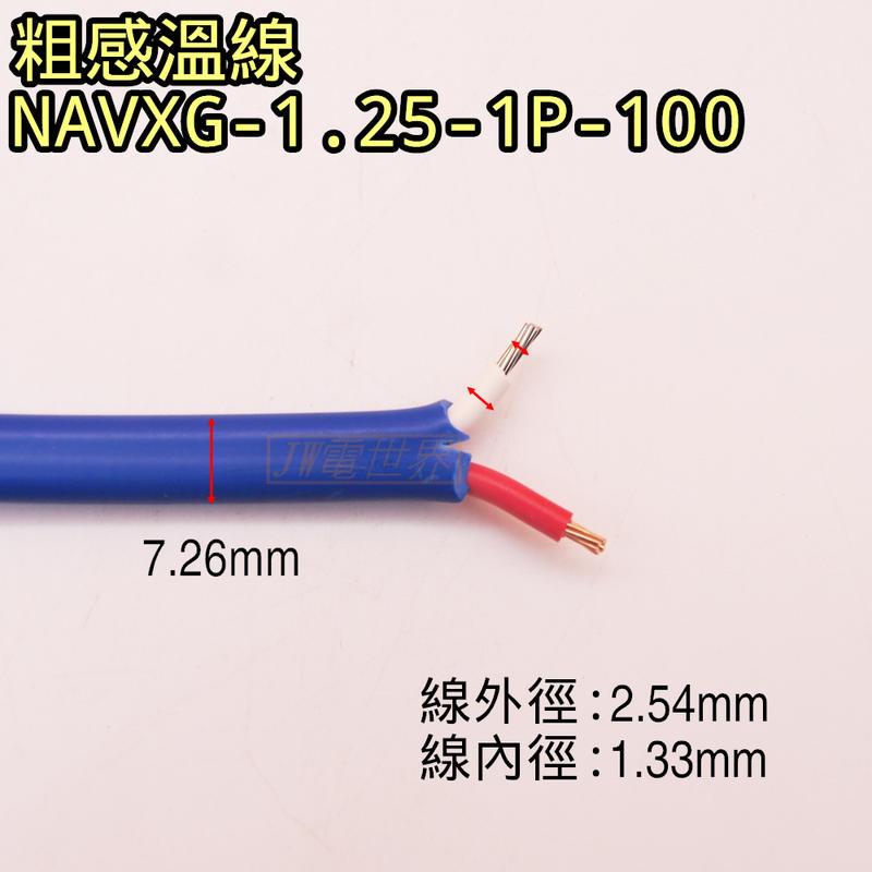 感溫線 K-Yype  熱電偶 感溫線 測溫線熱偶線 鐵氟龍線 [電世界2000-225]
