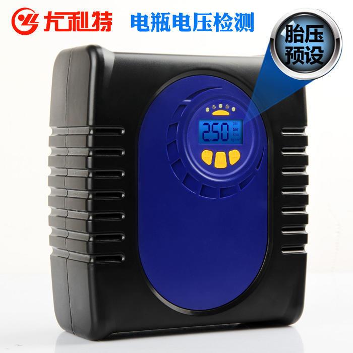 尤利特數顯預設車載充氣泵多功能大功率汽車用輪胎打氣泵寶駿310