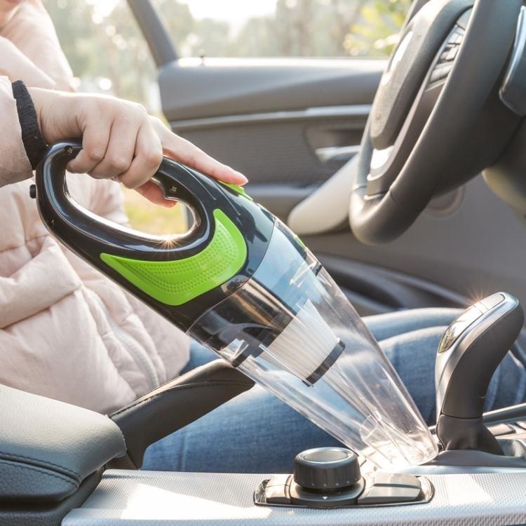 無線車載吸塵器 大功率220V充電汽車內用乾濕手持式強力家車兩用