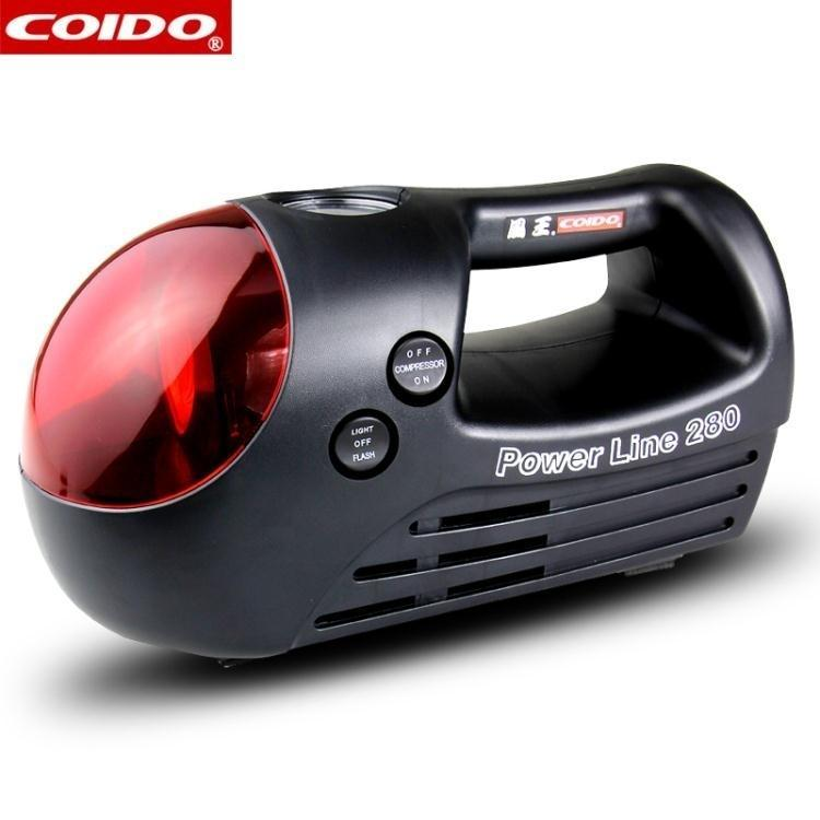 風王車載充氣泵3358便攜式汽車輪胎打氣泵車用電動高壓打氣筒