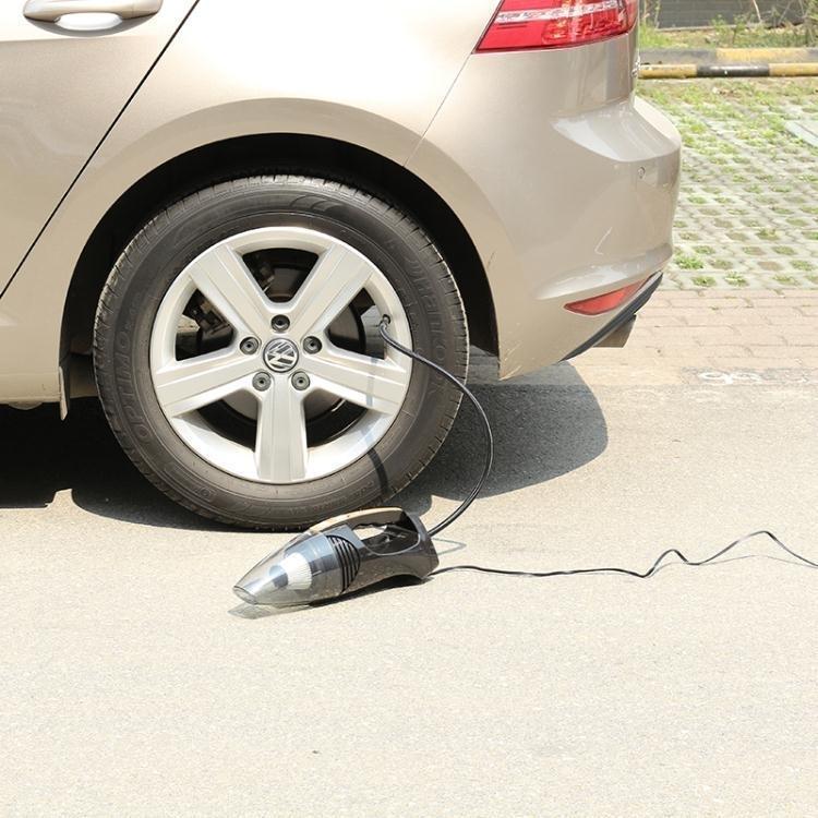 車載吸塵器四合一大功率12V強力汽車充氣泵乾濕兩用