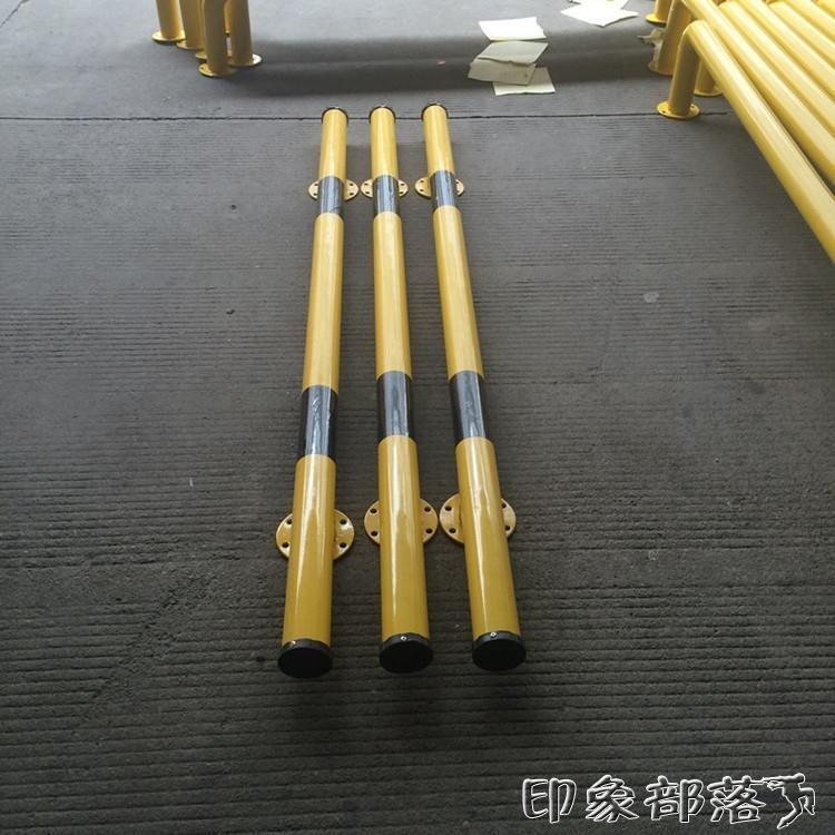 鋼管擋車器焊接u型擋輪桿防撞欄倒車墩車位倒車欄樁鋼管定位器