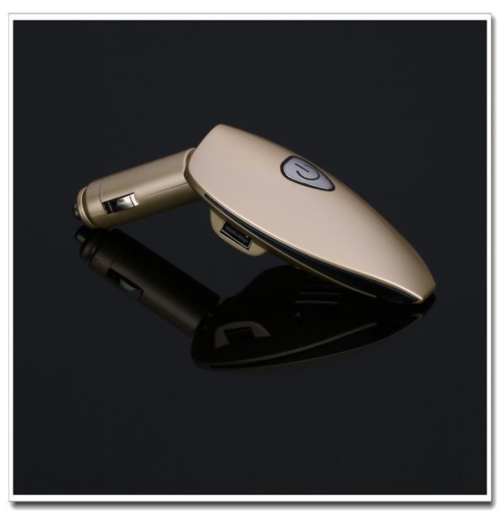 車用空氣凈化器充電器雙USB除煙負離子