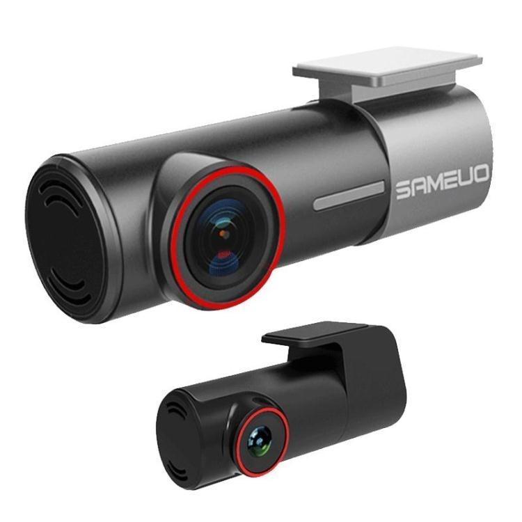 行車記錄儀雙鏡頭高清夜視全景WIFI 智慧無線隱藏式