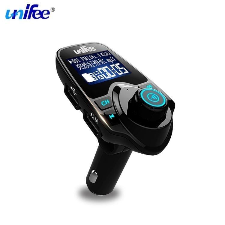 車載mp3播放器汽車藍芽接收器免提電話音樂點煙器式u盤插卡
