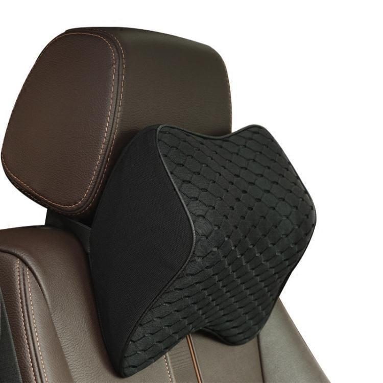 記憶棉汽車頭枕護頸椎枕座椅靠枕車用枕頭舒適四季通用用品