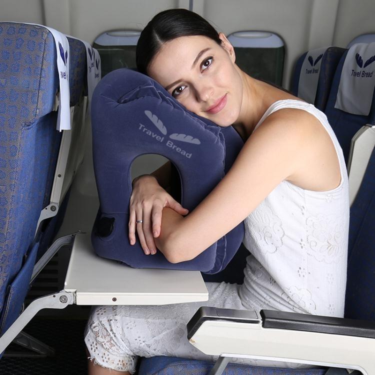 長途飛機旅行枕護頸枕 充氣U型枕便攜u形枕睡覺神器靠枕頭趴睡枕