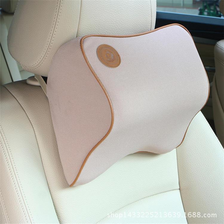 汽車頭枕護頸枕用品靠枕記憶棉頸椎座椅車內車載車用枕頭脖子頸枕