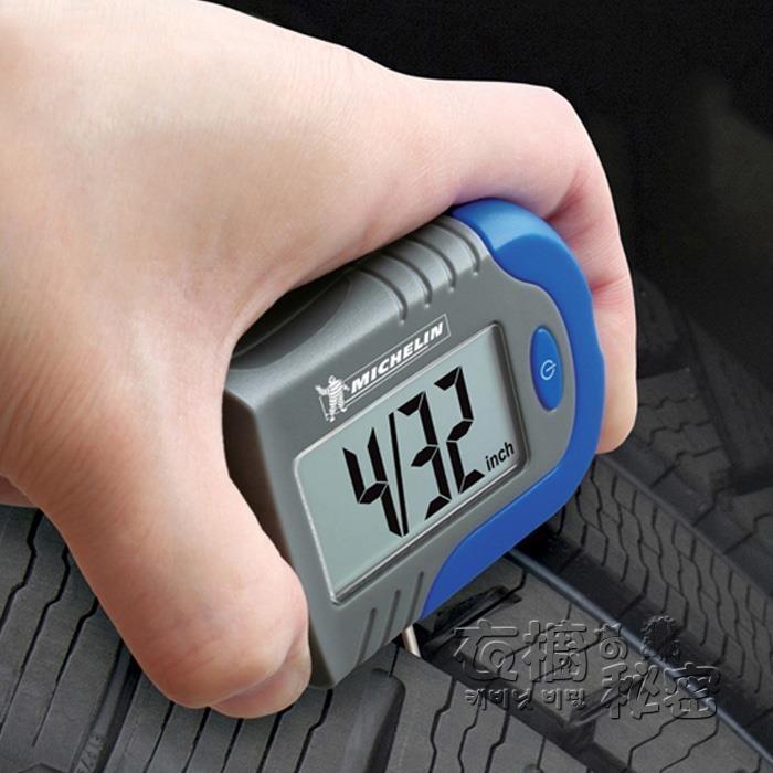 米其林電子數顯胎壓計輪胎氣壓表胎壓力監測器汽車用胎壓表高精度