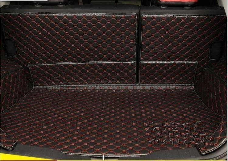 17奧迪A3A4LA6LQ3Q5Q7道奇酷威酷博專用全包後備箱墊尾箱墊