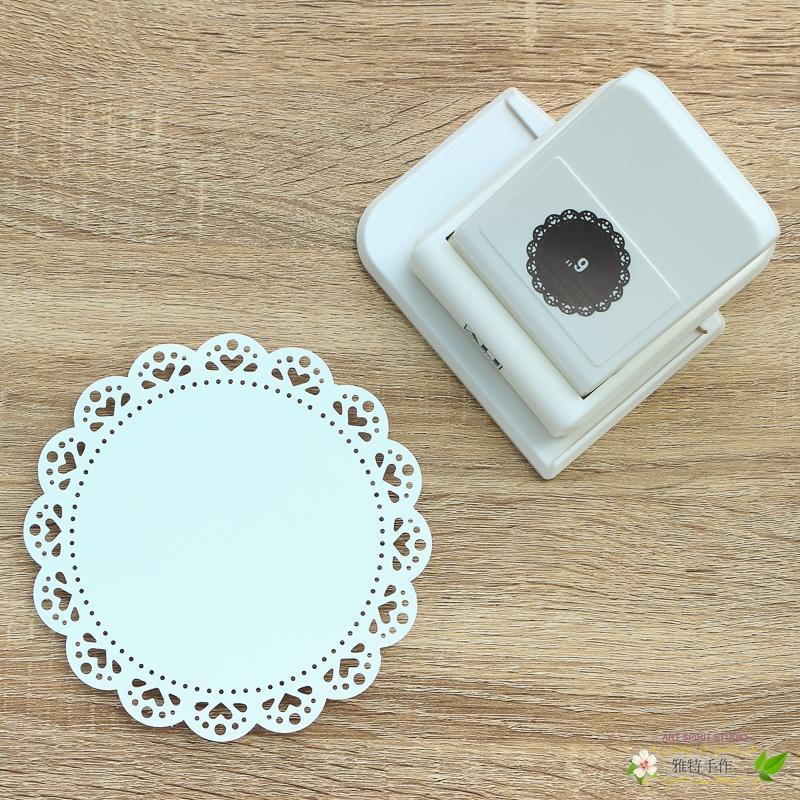 圓形邊框打孔器 P168-01 花瓣圓 ALI
