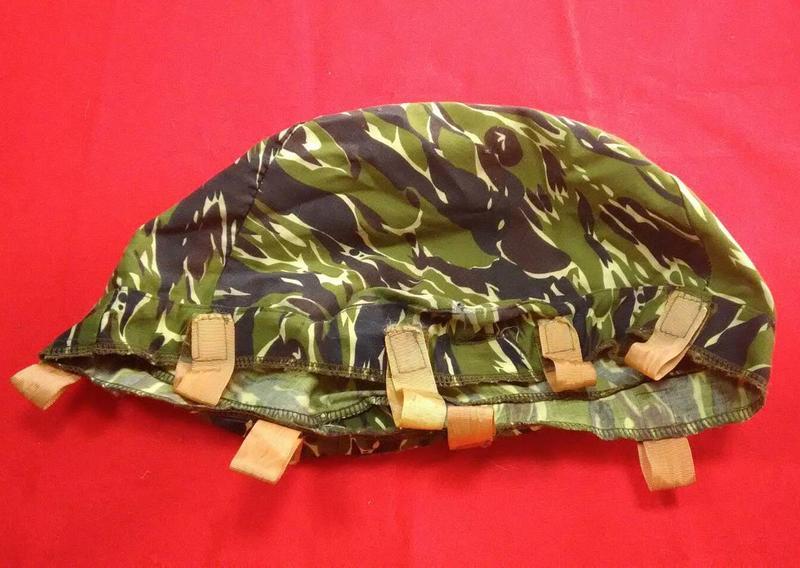 國軍/海軍陸戰隊虎斑迷彩偽裝帽/防彈頭盔專用