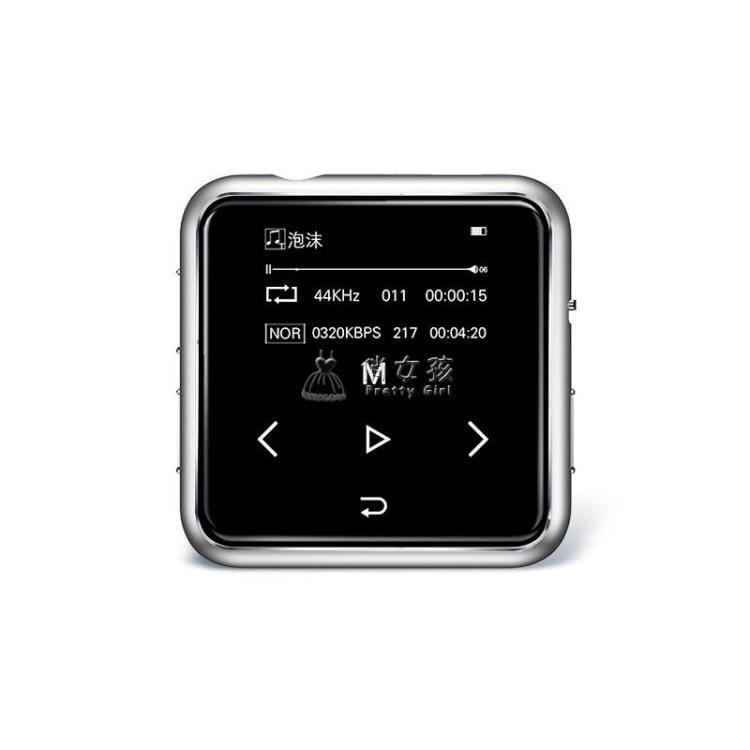 隨身聽 運動藍芽MP3音樂播放器跑步觸摸屏 迷你學生隨身聽錄音