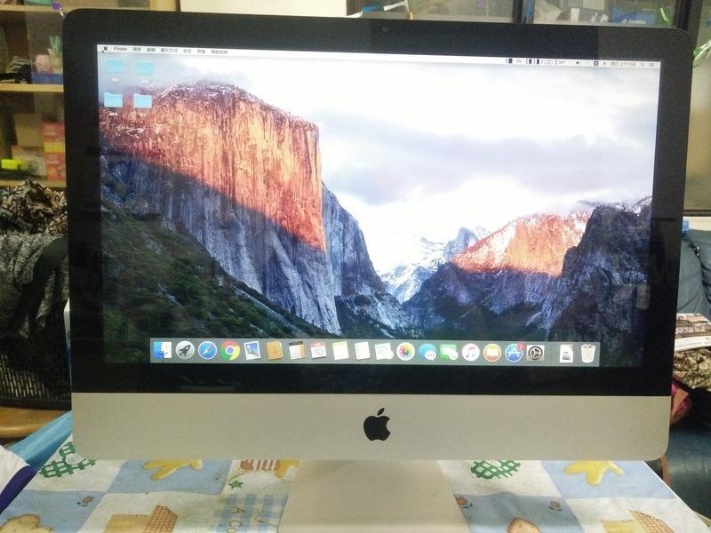 哈哈之家 (中古) Apple imac桌上型電腦 A1311-2010年 21.5吋 i3核心 8G FHD追劇聖品