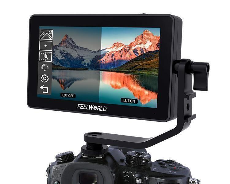 環球影視-FEELWORLD 富威德 F6 PLUS IPS 攝影監視器 HDMI 4K 3DLUT 觸控 5.5寸 公