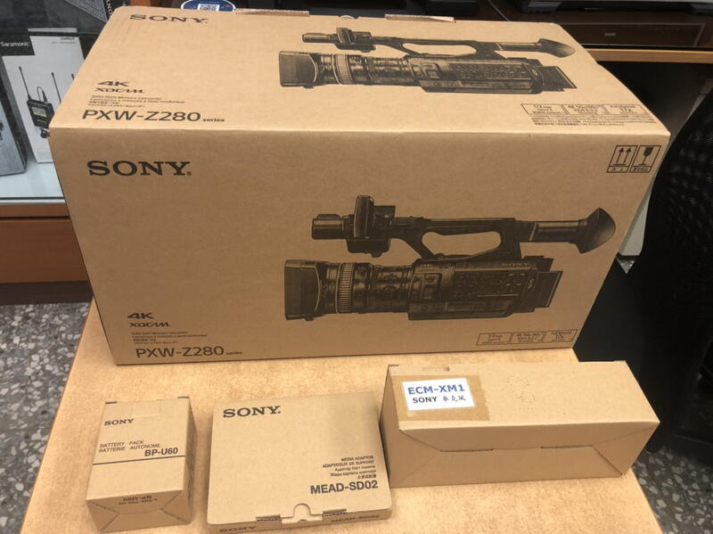 環球影視-Sony PXW-Z280 4K 1/2吋ExmorR 3CMOS 4K60p SDI 高畫質攝影機 公司貨
