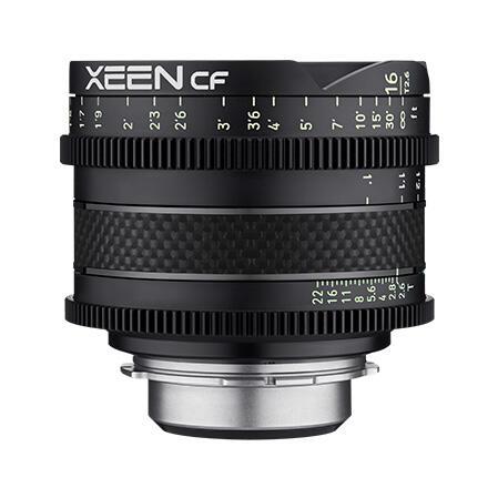 環球影視-SAMYANG XEEN CF 16mm T1.5 Pro Cine Lens EF 8K 碳纖維 電影鏡頭